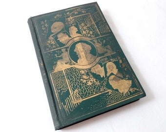 Dickens Works P F Collier Vol IV Volume 4 of Set Dark Green Covers The Works of Charles Dickens Famous Stories Curiosity Shop Hard Times ETC