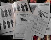 1950s Odd Fellows Regalia Costume and Supplies Catalogs Order Forms Ephemera