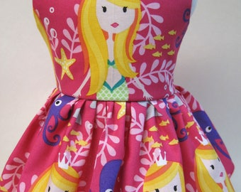 Mermaid Sisters, Sleeveless Dress for your 18 Inch Doll A