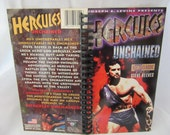 Hercules Unchained VHS Notebook