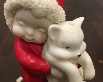 Totally huggable snow babies figurine