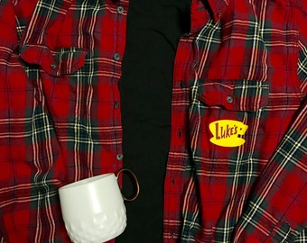 Luke's Diner Flannel Shirt - Gilmore Girls