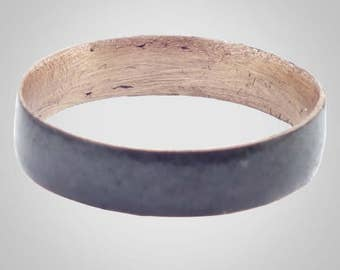 Authentic Ancient Viking  wedding Ring Band  Jewelry C.866-1067A.D. Size 9   (19.5mm)(brr393)