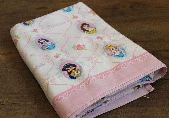 Disney Princess TWIN Flat Bed Sheet