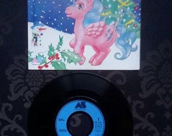 G1 Mon Petit Poney vinyl record Le Noël du Petit Pony