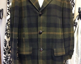 Awesome Green Plaid Pentelton