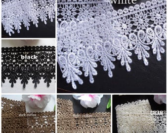 3 inch wide venise lace trim select color price for 1 yard