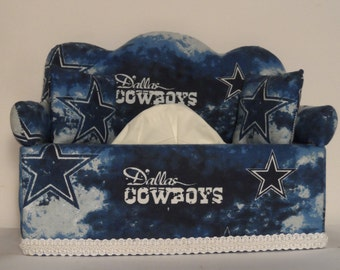 Dallas Cowboys Tissue Box Cover