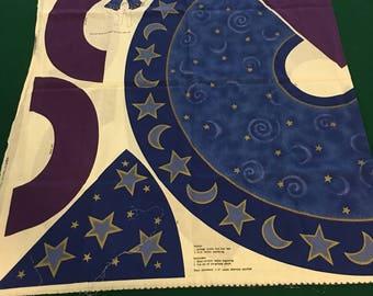 Kid's wizard costume fabric panel