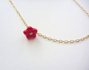 Poppy // Flower Bracelet