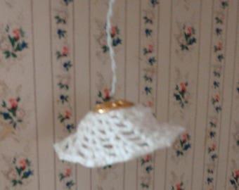 Dollhouse miniature lamp