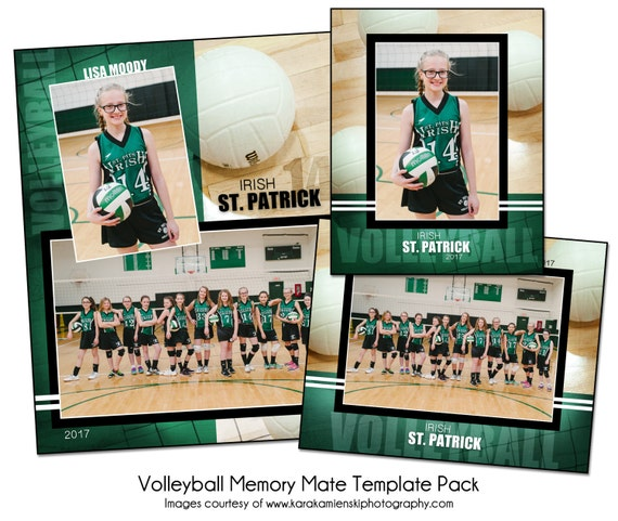volleyball pack h sports memory mate photo templates. Black Bedroom Furniture Sets. Home Design Ideas