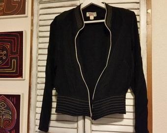 Vintage Silk Harper Greer Jacket