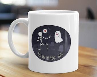 You Are Muy Soulmate Mug, Unique Coffee Mug, Illustrated Mug, Cute Mug, Gifts for Him, Gifts for Her, Love Mug, Couple Mug, Funny Mug