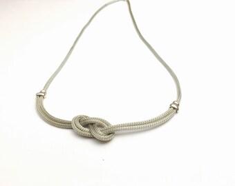 Vintage silver knok PENDANT/Necklace, Stamped .925, Clearance Sale, item no. E204