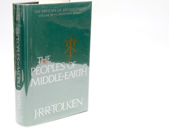 "Book Nerd Gifts: ""The Peoples of Middle-Earth"" JRR Tolkien 
