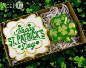 St. Patrick's Day Sugar Cookies Box Set