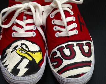 SUU Handpainted Shoes- local delivery only