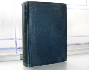 Antique 1896 Book Channing's Works