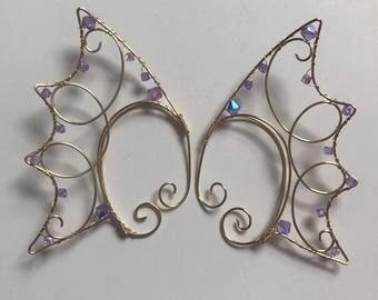 mermaid ear cuffs