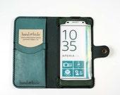 Xperia XA leather phone w...