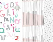 Custom ABC quilt crib size for AngelaBai