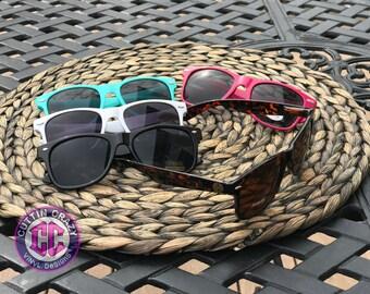 Monogram Rayban Wayfarer Inspired Sunglasses 30 different colors FREE SHIPPING