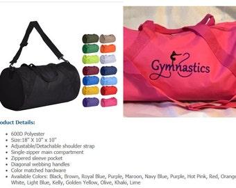 Personalized Gymnastics Duffel Bag