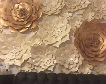 5ft -4ft paper flower decor for just about every occasion