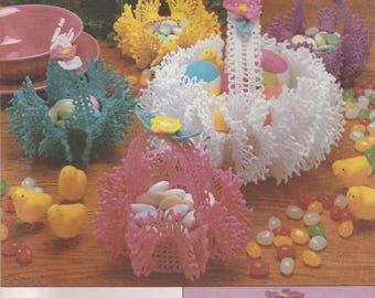 Crocheted Easter Decoration Pattern Simplicity 7359
