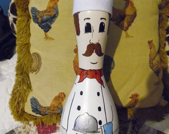 Chef Bowling Pin