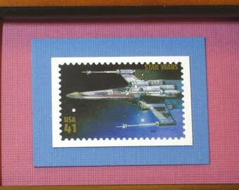 Star Wars Framed Stamp - X-wing Starfighter - No. 4143M