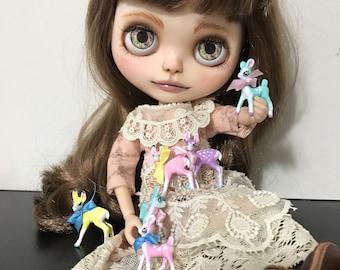 Blythe miniature kitsch vintage deer