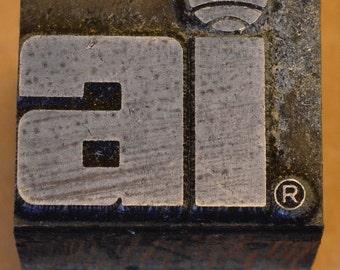 AI logo print block