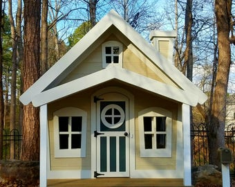 The Cottage Playhouse by Imagine That Playhouses!