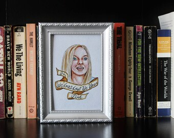 Framed Mean Girls Print (Karen Smith)