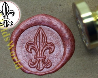 S1003 Lily Saint Wax Seal Stamp , Sealing wax stamp, wax stamp, sealing stamp
