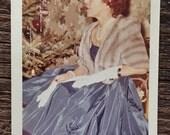 Original Vintage Color Photograph The Lady Eccentric