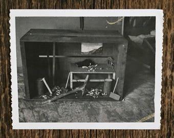 Original Vintage Photograph The Workshop