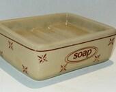 Vintage Ceramic Soap Holder Kitchen Bathroom Vintage Decor