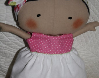 Doll Handmade from Tilda's Toy Box Collection