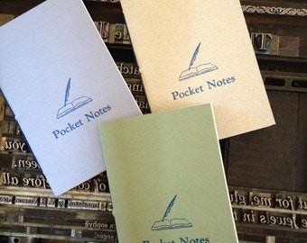 Pocket Notes, set of 3