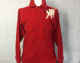 1950s Boy Scout jacket / Philmont jac-shirt