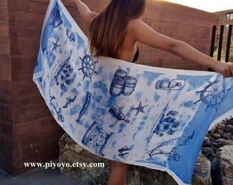 Beach Wrap Skirt, Sarong, Swim suit Cover Up coverups cover up Swim,  beach  Cover Ups - By PiYOYO