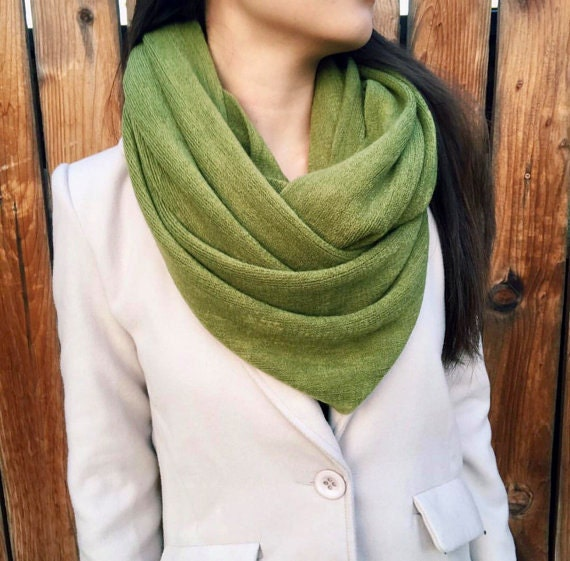 infinity scarves wrap shawl best selling item olive green