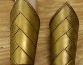Leather Armor High Elven  Bracers