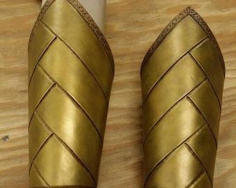 Leather Armor High Elven  Bracers