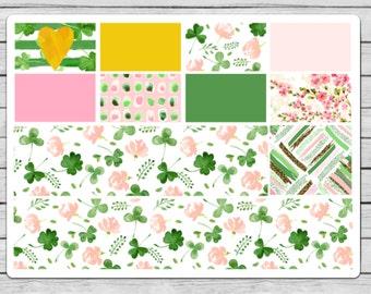Lucky Girl Bottom Washi & Washi Planner Stickers