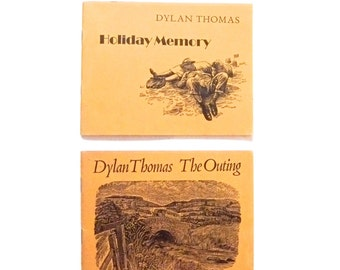 Dylan Thomas The Outing and Holiday Memory Books