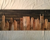 "Hand Crafted  Nashville 48"" Skyline"